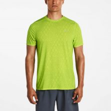 FREEDOM SHORT SLEEVE FACETS PRINT - Saucony
