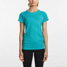 DASH SEAMLESS SHORT SLEEVE BARBADOS HEATHER - Saucony